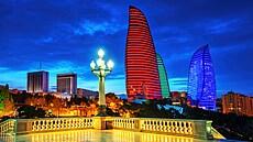 Baku bylo zanedbané, teď je to však moderní metropole. Čechy ale čeká sauna, vzpomíná Červenka