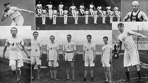 První samostatná výprava Čechů na olympiádě a jaké disciplíny měl moderní pětiboj