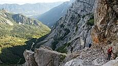 Češka nepřežila pád na horské túře v Rakousku. Zřítila se ze 40metrové skalní stěny