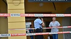 Soud poslal do vazby muže, který zadržoval ženu v Českých Budějovicích. Jeho motiv stále není jasný