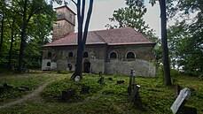 V kostele, který jako jediný zůstal po zaniklé vsi Pelhřimovy, se po 75 letech konala mše