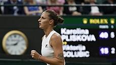 Připadám si jako ve snu, řekla Plíšková po postupu do semifinále Wimbledonu. V něm očekává 'pořádnou bitvu'
