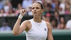 Plíšková si zahraje finále Wimbledonu. O vysněný vavřín se utká s jedničkou Bartyovou