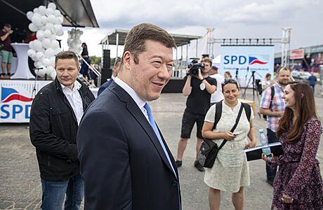 SPD zahájila předvolební kampaň