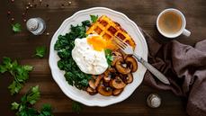 Dýňové vafle. Jak na pohodovou snídani, poradí foodblogerka
