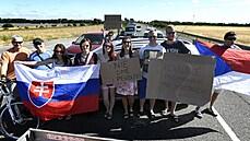Na hranicích se Slovenskem hrozí blokáda přechodů. Pendlerům vadí mimo jiné drahé testy