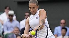 Plíšková první grandslam nezískala, ve finále Wimbledonu po boji podlehla světové jedničce Bartyové