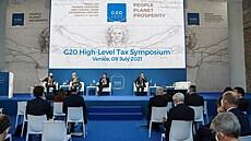 Skupina G20 podpořila společný postup proti nadnárodním firmám. Chtějí minimální daň 15 procent ze zisku