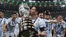 Fotbalisté Argentiny ovládli Copu América. Ve finále porazili domácí Brazílii 1:0