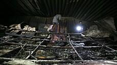 Při požáru nemocnice v Iráku zemřelo nejméně 66 lidí. Léčili zde pacienty s covidem-19