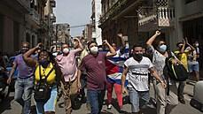 Castrovci to nevzdávají. K tomu, aby protesty na Kubě přinesly změnu, je třeba tektonického zlomu