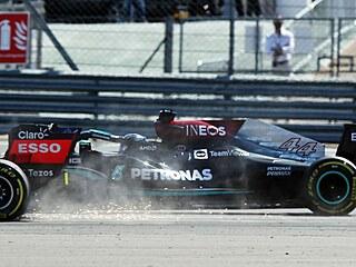 Souboj Hamiltona a Verstappena.