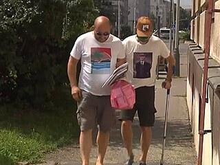 Roman Janoušek nastupuje do vězení.