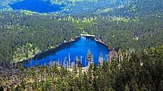 Šumavská legendární ledovcová jezera. Kochání se je dovoleno, koupání ne