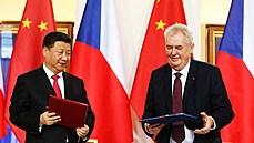 Čínské investice do Česka zaostávají za příslibem