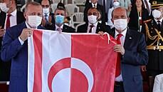 Erdogan severní Kypr nepustí, žádá dva státy na ostrově. Nikdy s tím nebudeme souhlasit, zní z Evropské komise