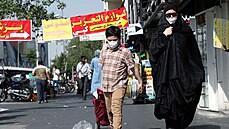 Íránci se bouří, není voda. Z kohoutků teče nepoživatelná hnědá břečka, za vyschlé nádrže může i mafie