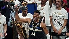 Milwaukee po půl století vyhrálo NBA. Titul 50 body zařídila řecká basketbalová hvězda