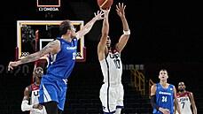 Basketbalisté s USA odehráli rovnocenný poločas, o šanci na čtvrtfinále ale přišli
