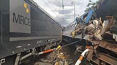 Na Prostějovsku se srazila lokomotiva s osobním vlakem. Příčinou byla zřejmě nepovolená jízda