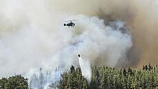 V Turecku dál zuří velké požáry, zemřelo již šest lidí. Ministerstvo varovalo české turisty, aby do oblasti nejezdili
