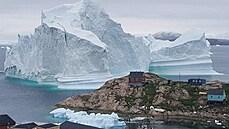 Obyvatele grónské vesničky ohrožuje obří ledovec. Kvůli tsunami probíhá evakuace