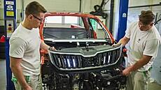 Studenti učiliště Škody Auto postavili z modelu Kodiaq pickup, nazvali ho Mountiaq