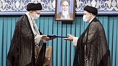 Nový prezident Íránu je považován za nástupce ajatolláha Chameneího. V životopise má ale velký otazník