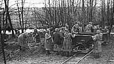 Klára Červenková v lágru pomáhala ostatním a tajně pořádala přednášky. Zemřela záhy po osvobození