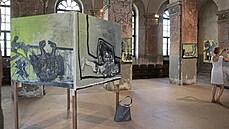 Sugestivní apokalypsy. Výstava nedávno zesnulého Petra Šmahy přesvědčí návštěvníka o síle umění