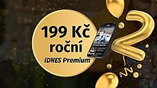 Čtěte Lidovky.cz s ročním předplatným za 199 korun. Akční nabídka IDNES Premium