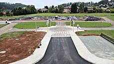 Finišuje nový skatepark a moderní dopravní hřiště