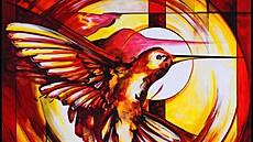 Kolibřík ve světě zabodoval. Český digitální obraz se poprvé prodal za milion