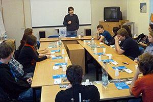 Přednáška             Tomáše Weisse pro studenty arcibiskubského             gymnázia.