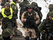 Na Libavé vyvrcholil výcvik poradního a výcvikového týmu české armády, který bude v afghánské provincii Vardak dohlížet na vojáky afghánské armády