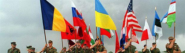 Banner Partnerství pro mír