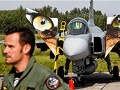 Mise českých pilotů v s gripeny v Pobaltí začíná (31. srpna 2012)