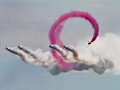 Britský akrobatická skupina Red Arrows