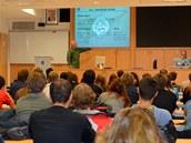 Úvodní prezentace pro studenty od zástupce velitele základny plk. Ondřeje