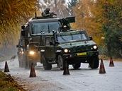 Instruktoři BIS učí české vojáky dokonale zvládnou řízení vozidel a reagovat na krizové situace