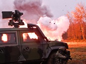 Minometný přepad. Čeští vojáci se připravují na novou misi v afghánském Vardaku.