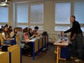 Prezentace Matyáše Zrna o působení ČR v Afghánistánu pro studenty SŠ (TRIVIS
