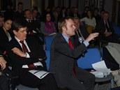 Veřejná debata se zákonodárci ze zemí NATO v Praze 12.11. 2012.
