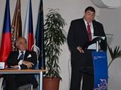 Prezident Parlamentního shromáždění NATO Karl Lammers, kterého v Praze nahradil