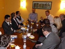 Debata s eurokomisařem Štefanem Fülem (14. prosince 2012)