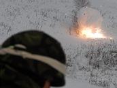 Řízené odpálení nastražení nálože. Na Libavé vrcholí přípravy českých vojáků před novou misí v afghánském Vardaku