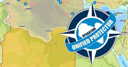Grafika operace Unified Protector