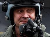 Odcházející velitel vzdušných sil Jiří Verner