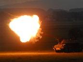 Úder dělostřestřelectva na Dnech NATO v Ostravě