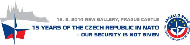 15 years of the Czech Republic in NATO - conference logo